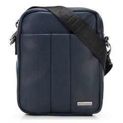 Мужская маленькая сумка через плечо, темно-синий, 91-4P-600-7, Фотография 1
