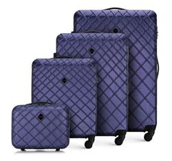 Комплект чемоданов, темно-синий, 56-3A-55K-91, Фотография 1