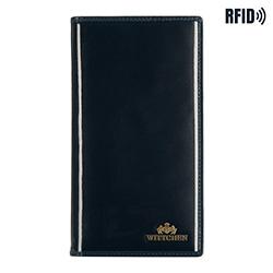 Обложка для паспорта, темно-синий, 14-2L-200-N, Фотография 1