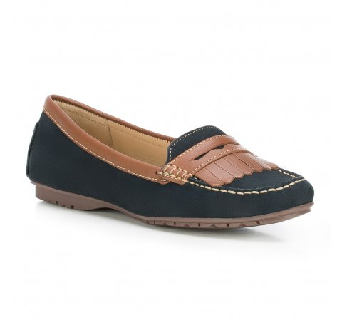 Обувь женская, темно-синий, 88-D-701-3-39, Фотография 1