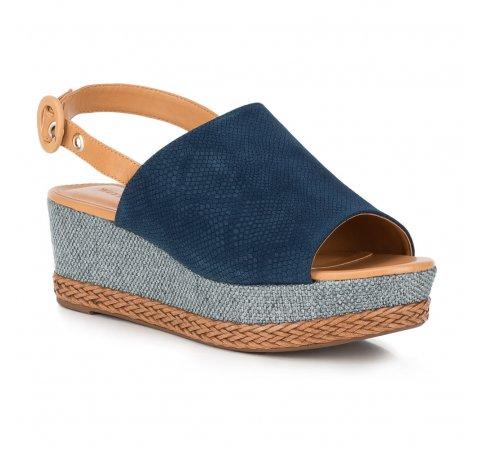 Обувь женская, темно-синий, 88-D-710-7-39, Фотография 1