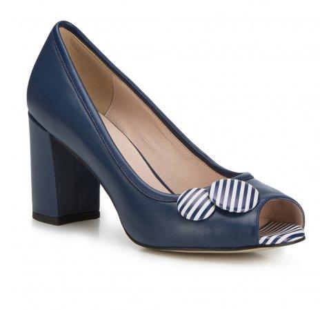 Обувь женская, темно-синий, 88-D-964-7-36, Фотография 1