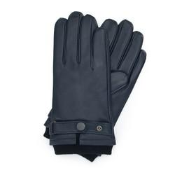 Перчатки мужские, темно-синий, 39-6-704-GC-M, Фотография 1