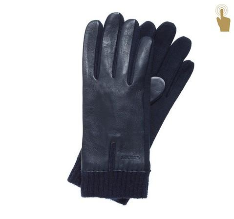 Перчатки мужские, темно-синий, 47-6-201-7-U, Фотография 1