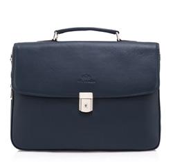 Портфель, темно-синий, 82-3-810-7R, Фотография 1