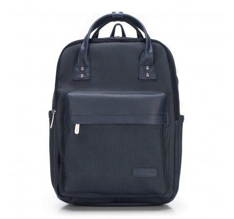 Мужской металлизированный рюкзак для ноутбука 15,6