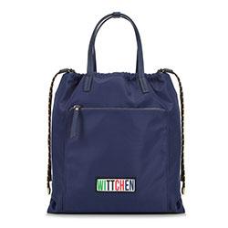 Рюкзак женский, темно-синий, 90-4Y-301-7, Фотография 1