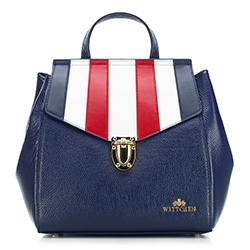 Рюкзак женский, темно-синий, 88-4E-367-X1, Фотография 1