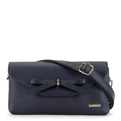 Шоудлер сумка, темно-синий, 90-4Y-761-7, Фотография 1