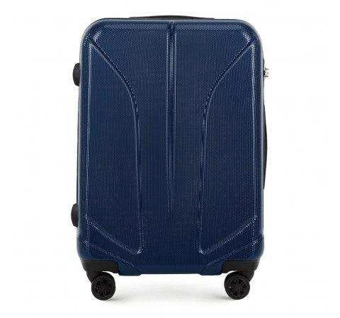 Средний чемодан, темно-синий, 56-3P-812-10, Фотография 1