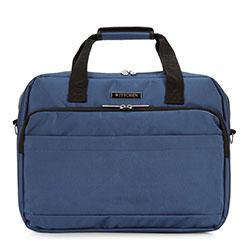 "Тканевая сумка для ноутбука 17"", темно-синий, 56-3S-585-9B, Фотография 1"