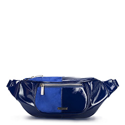 Сумка на пояс, темно-синий, 88-4Y-307-7, Фотография 1