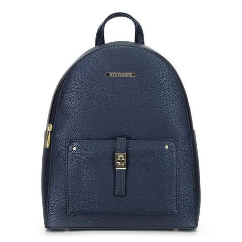 Женский кожаный рюкзак faxu, темно-синий, 29-4Y-003-1, Фотография 1