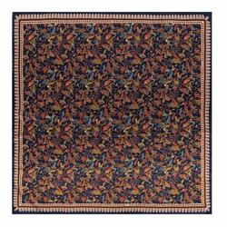 Платок женский, темно-синий, 90-7D-S31-X3, Фотография 1