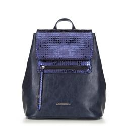 Женский рюкзак, темно-синий, 90-4Y-403-7, Фотография 1
