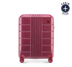 Kabinový cestovní kufr, tlumená červená, 56-3P-821-35, Obrázek 1