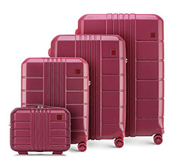 Sada zavazadel, tlumená červená, 56-3P-82K-35, Obrázek 1