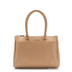 Dámská kabelka, tmavě béžová, 86-4E-404-9, Obrázek 1
