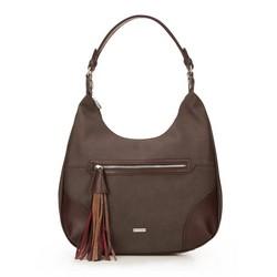 Dámská kabelka, tmavě hnědá, 87-4Y-556-4, Obrázek 1