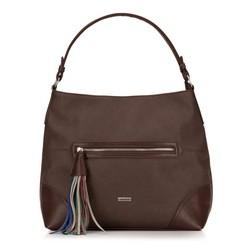 Dámská kabelka, tmavě hnědá, 87-4Y-557-4, Obrázek 1