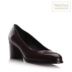 Dámské boty, tmavě hnědá, 79-D-110-4-40, Obrázek 1