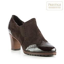 Dámské boty, tmavě hnědá, 83-D-109-4-40, Obrázek 1