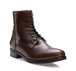 Dámské boty, tmavě hnědá, 83-D-454-4-39, Obrázek 1