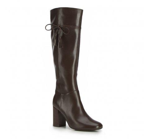 Dámské boty, tmavě hnědá, 87-D-902-4-35, Obrázek 1