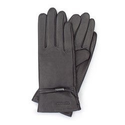 Dámské rukavice, tmavě hnědá, 39-6-558-BB-L, Obrázek 1