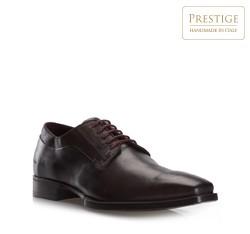 Pánské boty, tmavě hnědá, 79-M-083-4-40, Obrázek 1