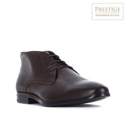 Pánské boty, tmavě hnědá, 83-M-308-4-45, Obrázek 1