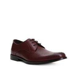 Pánské boty, tmavě hnědá, 84-M-908-4-44, Obrázek 1