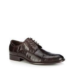 Pánské boty, tmavě hnědá, 87-M-903-4-45, Obrázek 1