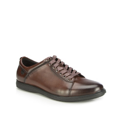 Pánské boty, tmavě hnědá, 87-M-926-4-44, Obrázek 1