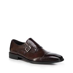 Pánské boty, tmavě hnědá, 88-M-816-4-45, Obrázek 1