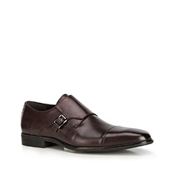 Pánské boty, tmavě hnědá, 90-M-516-4-43, Obrázek 1
