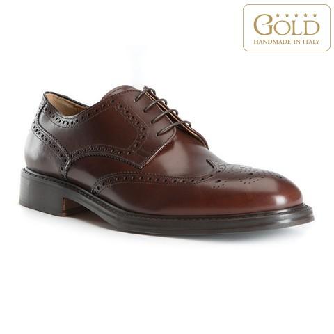 Pánské boty, tmavě hnědá, BM-B-501-4-39, Obrázek 1