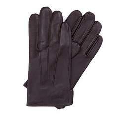 Pánské rukavice, tmavě hnědá, 39-6-308-B-L, Obrázek 1