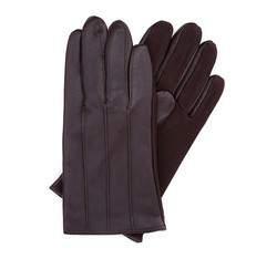 Pánské rukavice, tmavě hnědá, 39-6-342-B-S, Obrázek 1