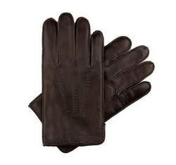 Pánské rukavice, tmavě hnědá, 39-6-348-D-L, Obrázek 1