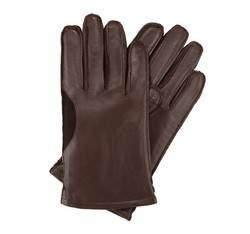 Panské rukavice, tmavě hnědá, 39-6-700-B-L, Obrázek 1