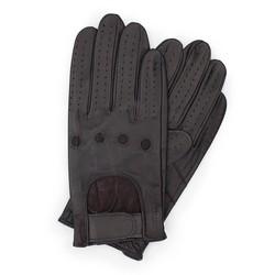 Pánské rukavice, tmavě hnědá, 46-6L-381-BB-M, Obrázek 1