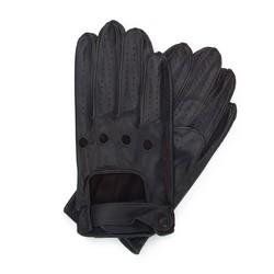 Pánské rukavice, tmavě hnědá, 46-6L-386-BB-L, Obrázek 1