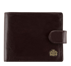 Peněženka, tmavě hnědá, 10-1-120-4, Obrázek 1