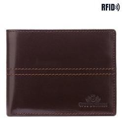 Peněženka, tmavě hnědá, 14-1-116-L4, Obrázek 1