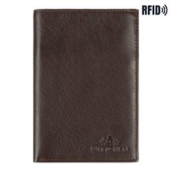 Peněženka, tmavě hnědá, 14-1-608-L41, Obrázek 1