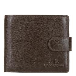 Peněženka, tmavě hnědá, 21-1-125-40L, Obrázek 1