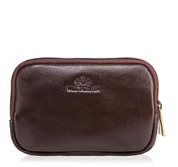 Příruční taška s poutkem, tmavě hnědá, 21-3-091-44, Obrázek 1