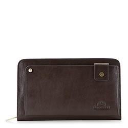 Příruční taška s poutkem, tmavě hnědá, 21-3-377-4, Obrázek 1