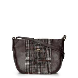 Dámská kabelka, tmavě hnědá, 89-4E-358-4, Obrázek 1